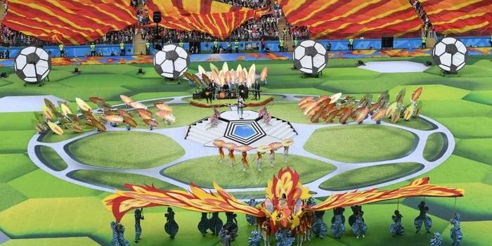 Arrancó el Mundial de Fútbol Rusia 2018