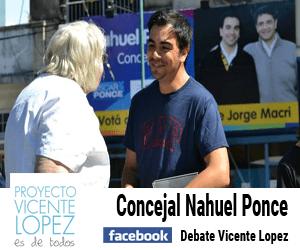 Concejal Nahuel Ponce